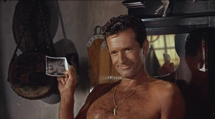 instant blackmail Hugh O'Brian and Ruth Roman Love Has Many Faces