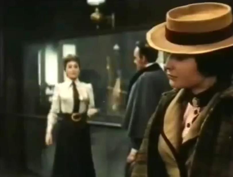 Teresa arrives