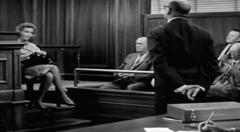 Edwina on the stand trial