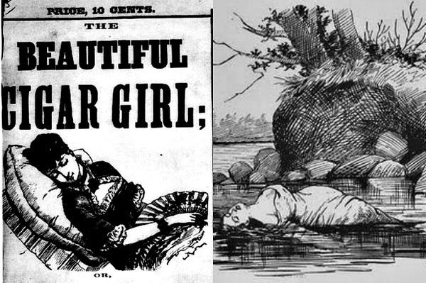 The Beautiful Cigar Girl murder mystery