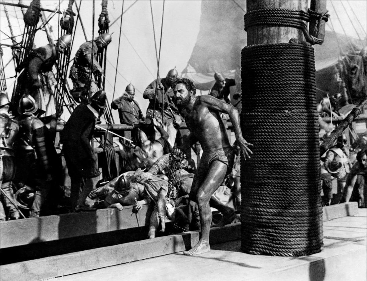 The Sea Hawk prisoner of Spain