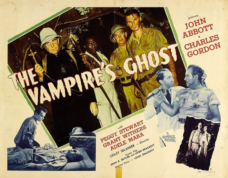 The Vampire's Ghost poster
