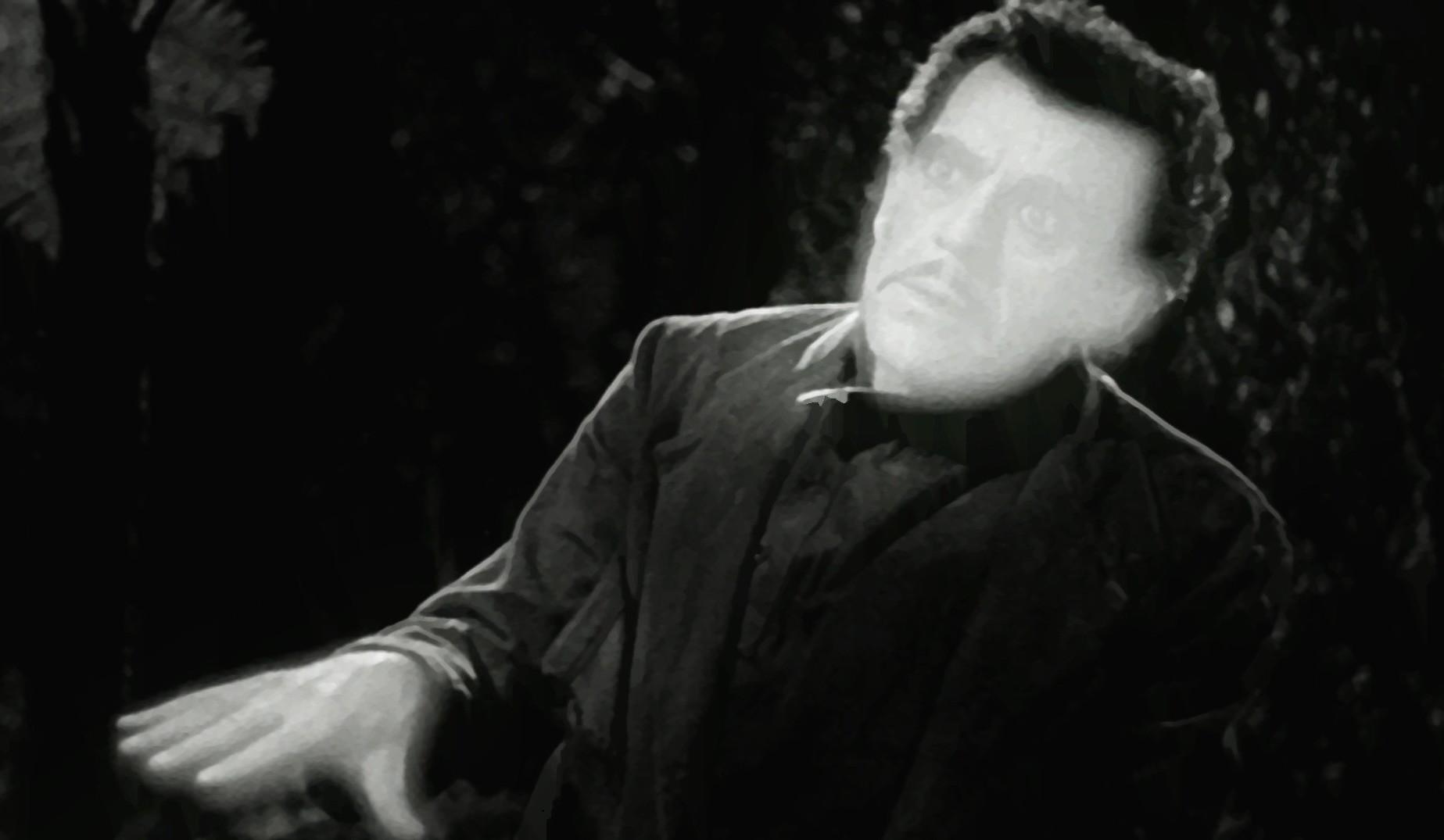 Boris as Janos Invisible Ray