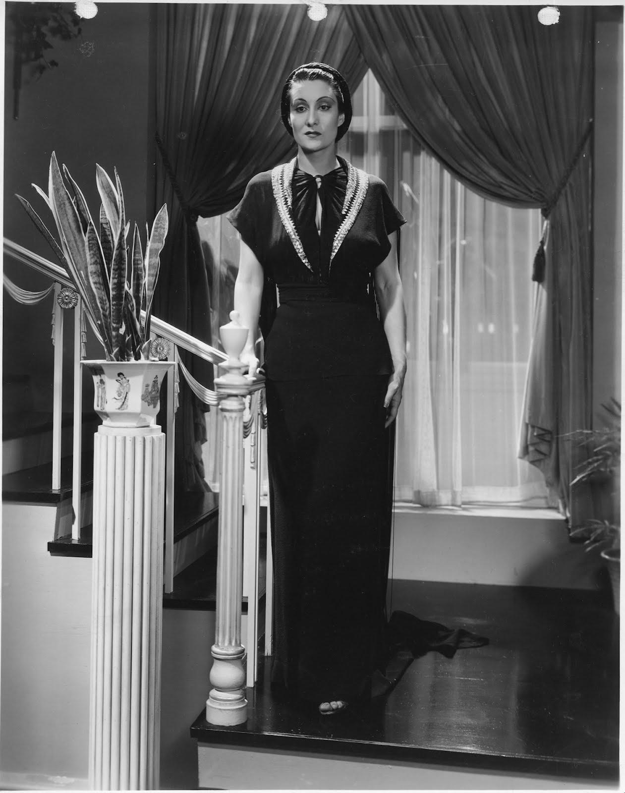 Gloria Holden Vera West Gown