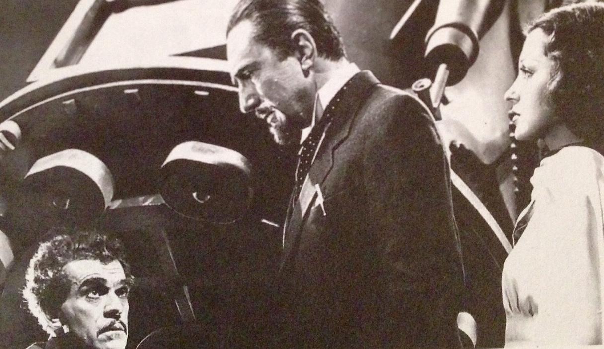 Karloff Bela and Drake The Invisible Ray