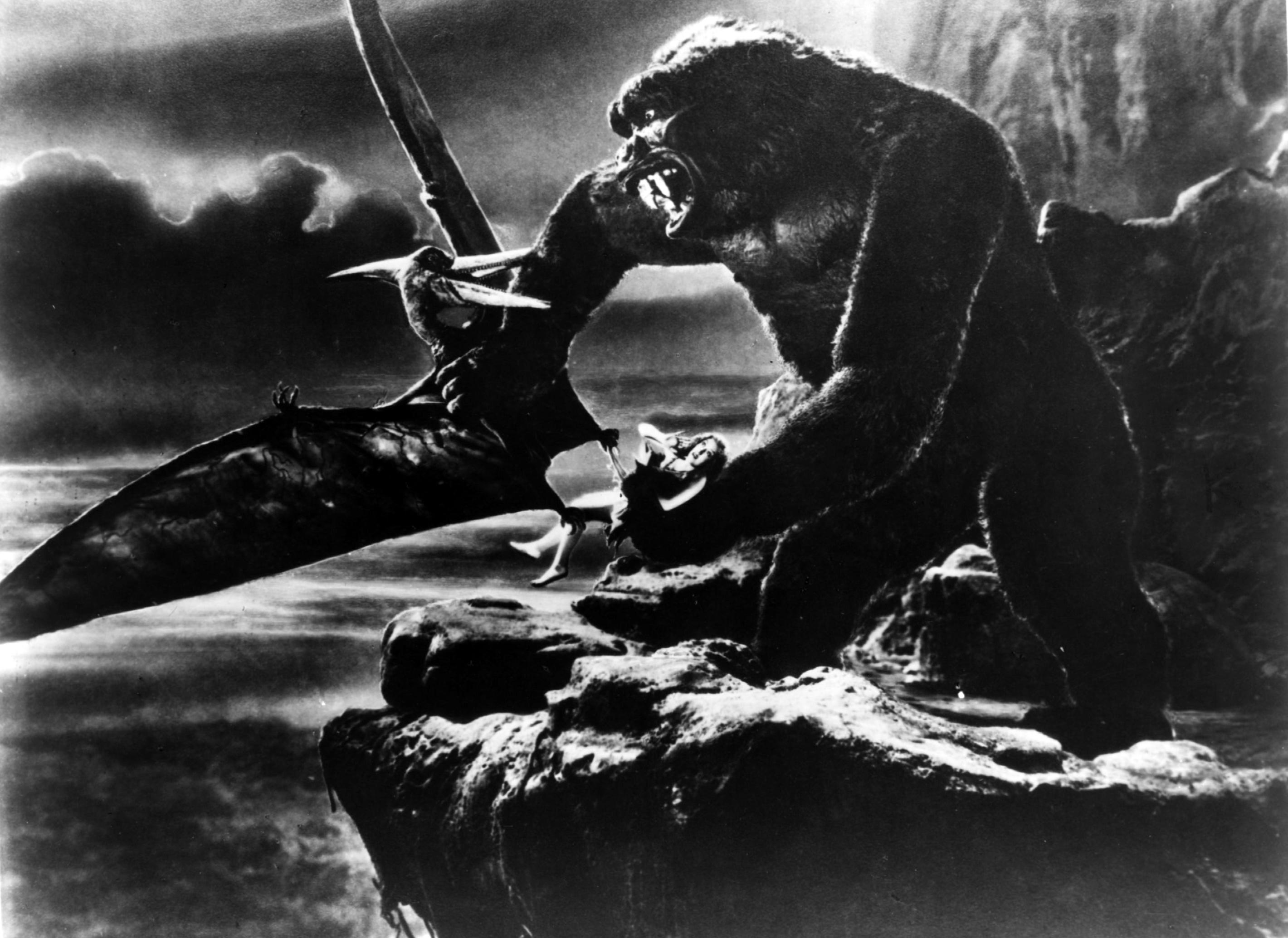 Wray and King Kong