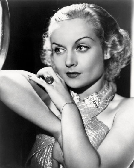 American actress Carole Lombard (1908 - 1942), circa 1935. (Photo by Silver Screen Collection/Getty Images)