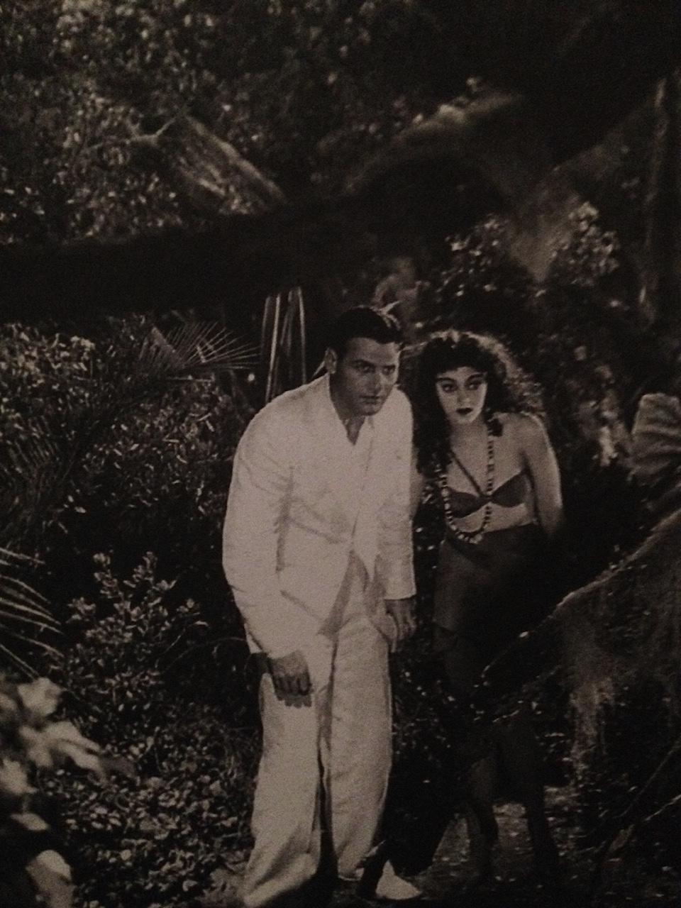 Richard Arlen and Kathleen Burke