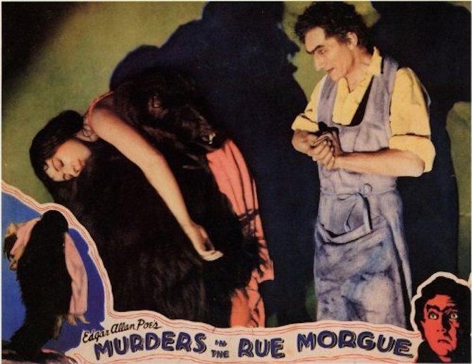 Rue Morgue Lobby Card