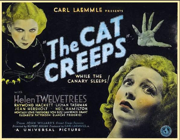 The Cat Creeps poster
