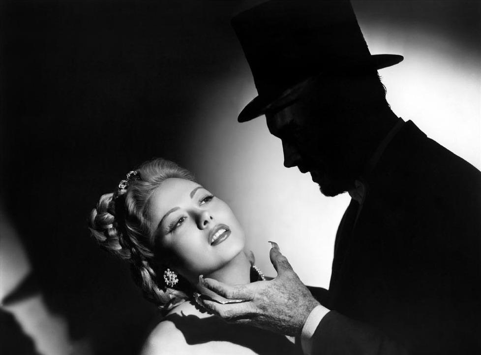 Prod DB © Republic Pictures / DR THE CATMAN OF PARIS de Lesley Selander 1946 USA avec Adele Mara et Carl Esmond monstre, ogre, ombre, fantastique, ambiance, griffes code BW