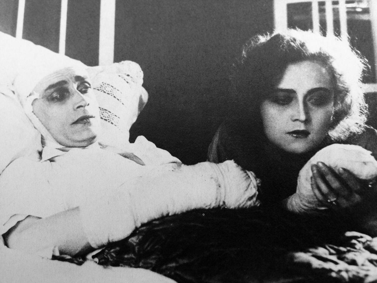 The Hands of Orlac 1924 Conrad Veidt Alexandra Sorina