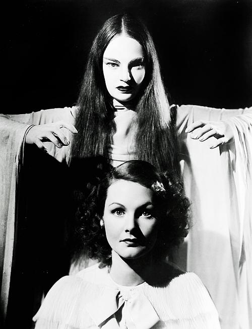 Elizabeth Allan and Carroll Borland Mark of the Vampire