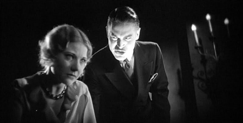 The Bat Whispers (1930) Una Merkel with Chester Morris