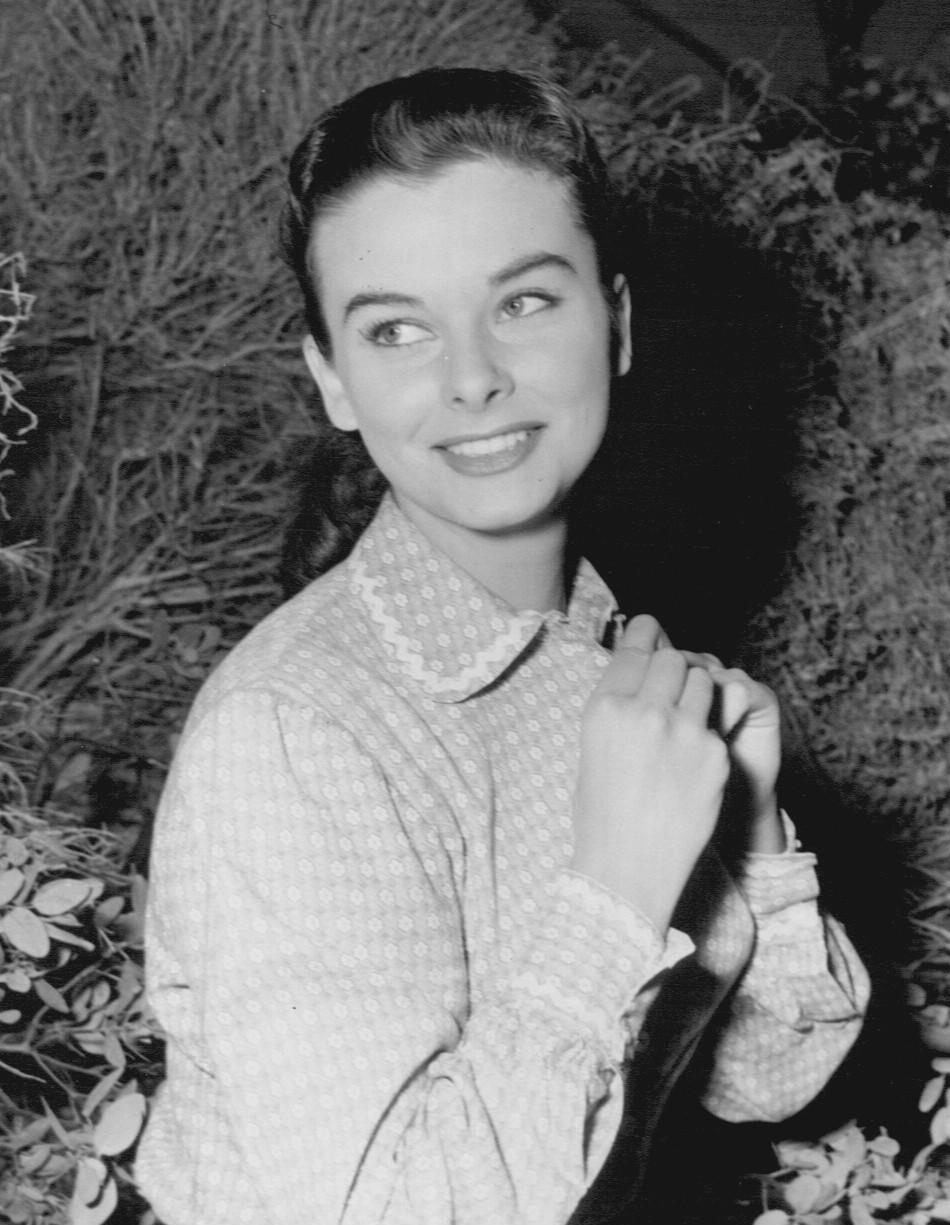 Audrey Dalton in Wagon Train 1958