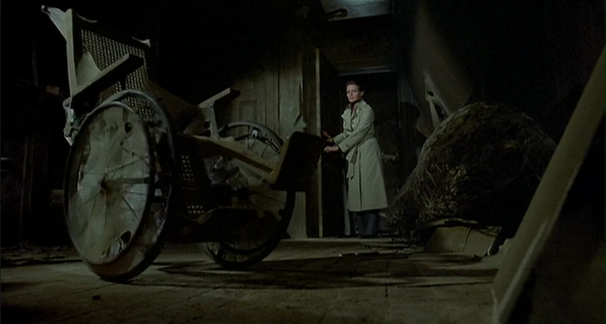 The Changeling 1980 wheelchairs are scary