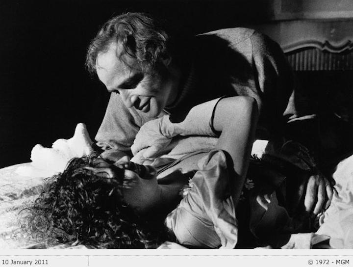Brando and Schneider The Last Tango in Paris