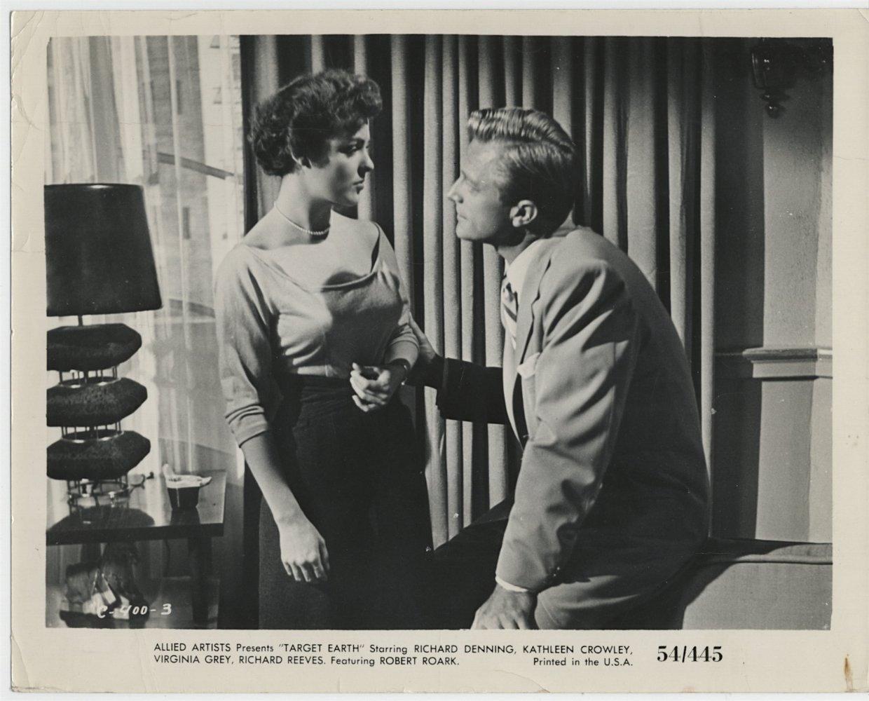 Kathleen Crowley and Richard Denning