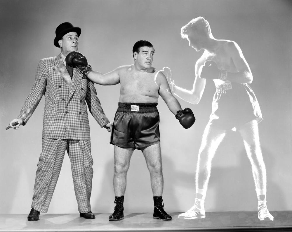 ABBOTT AND COSTELLO MEET THE INVISIBLE MAN, Bud Abbott, Lou Costello, Arthur Franz, 1951