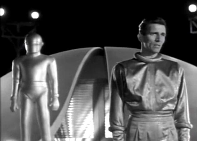 Day the Earth Stood Still Klaatu and Gort 2