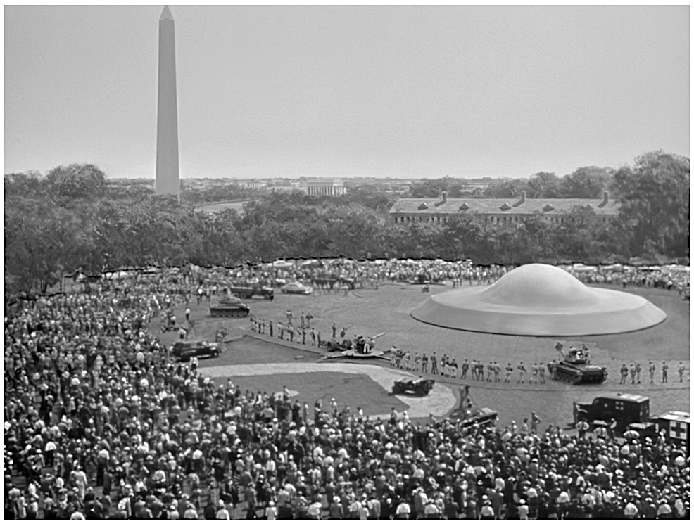 Day the Earth STood STill the saucer in Washington