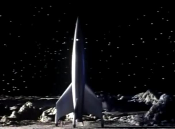 destination moon rocket