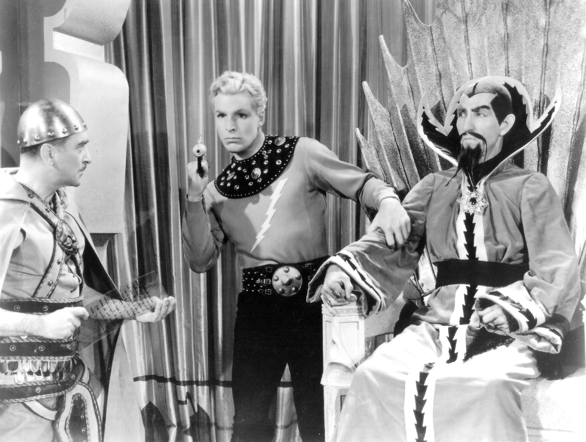 Flash Gordon Buster Crabbe and Ming