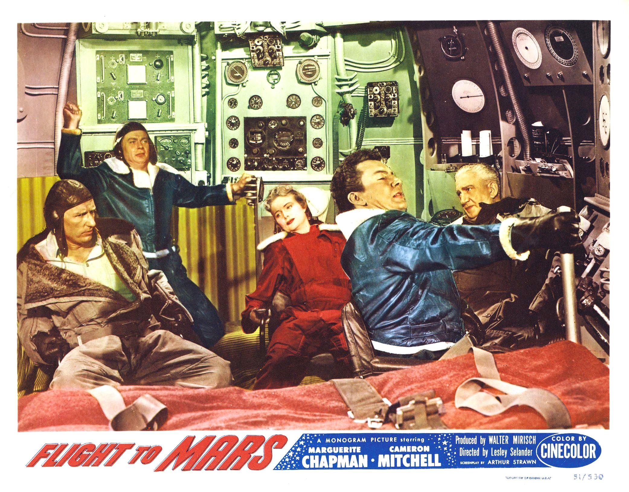 Flight to Mars 1951 lobby card color