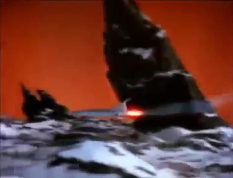 Flight to Mars crash land orange sky