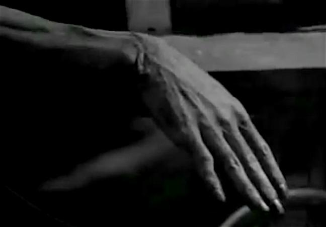Frankenstein's hand it's alive