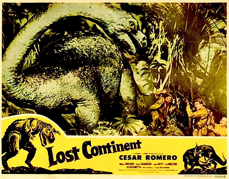 Lost Continent Brontasaurus