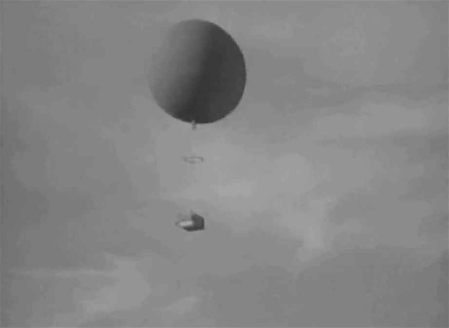 Mysterious Island the balloon