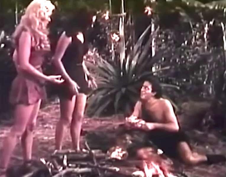 Prehistoric Women Engor discovers fire