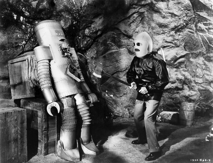 Radar Men From The Moon 1952 (Robot)