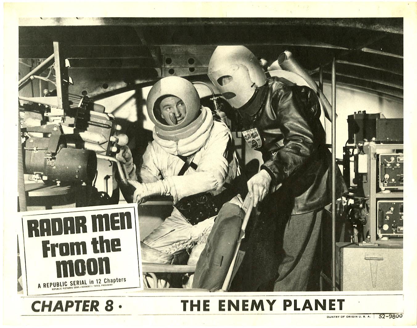 Radar Men from the Moon seria