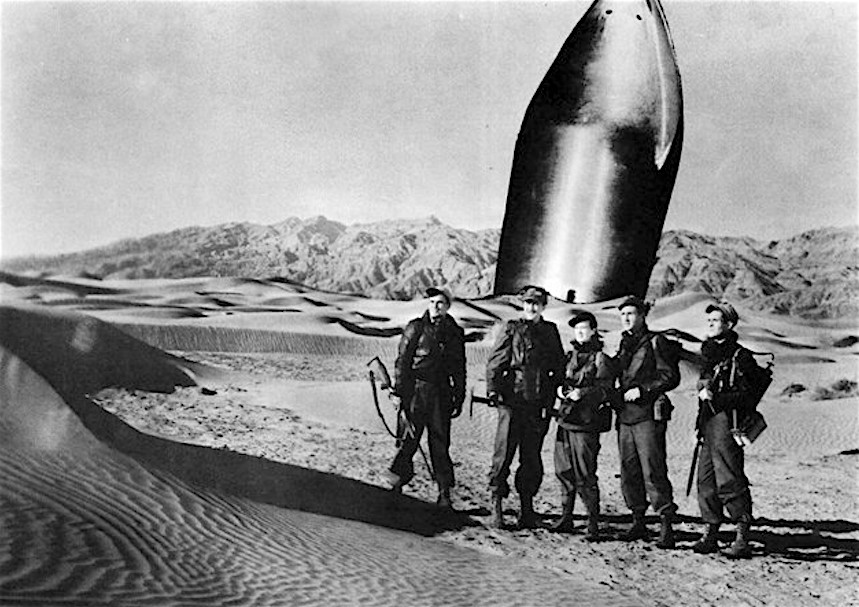 rocketship-x-m on Mars