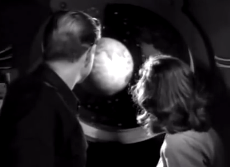 they would create love stories in space Lloyd and Osa in Rocketship X-M doomed to crash