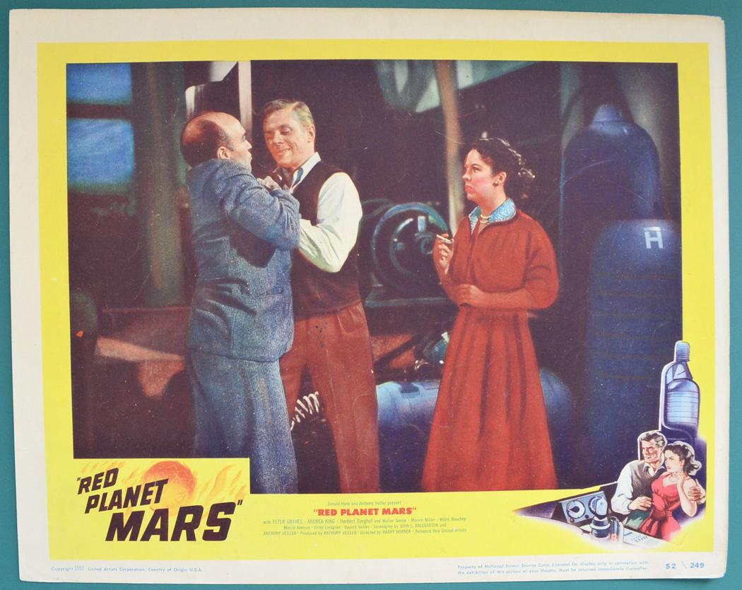 Red Planet Mars - Lobby Card